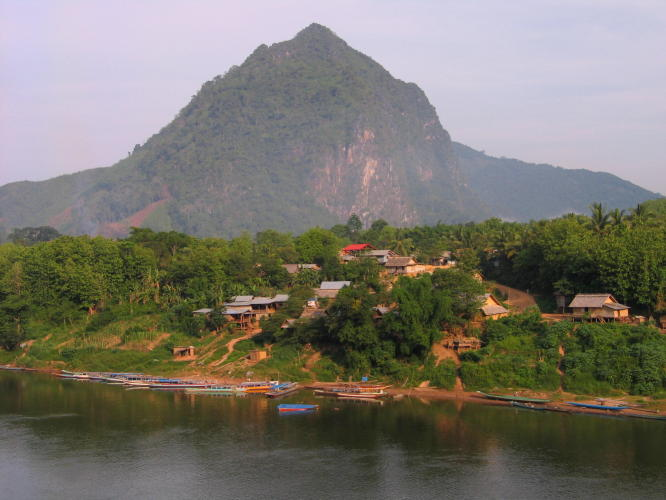 Laos motorbike tour from/to Luang Prabang